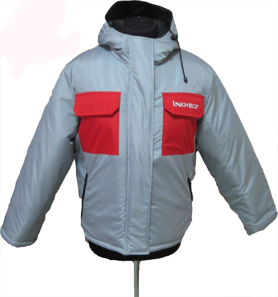 Куртка утепленная серая