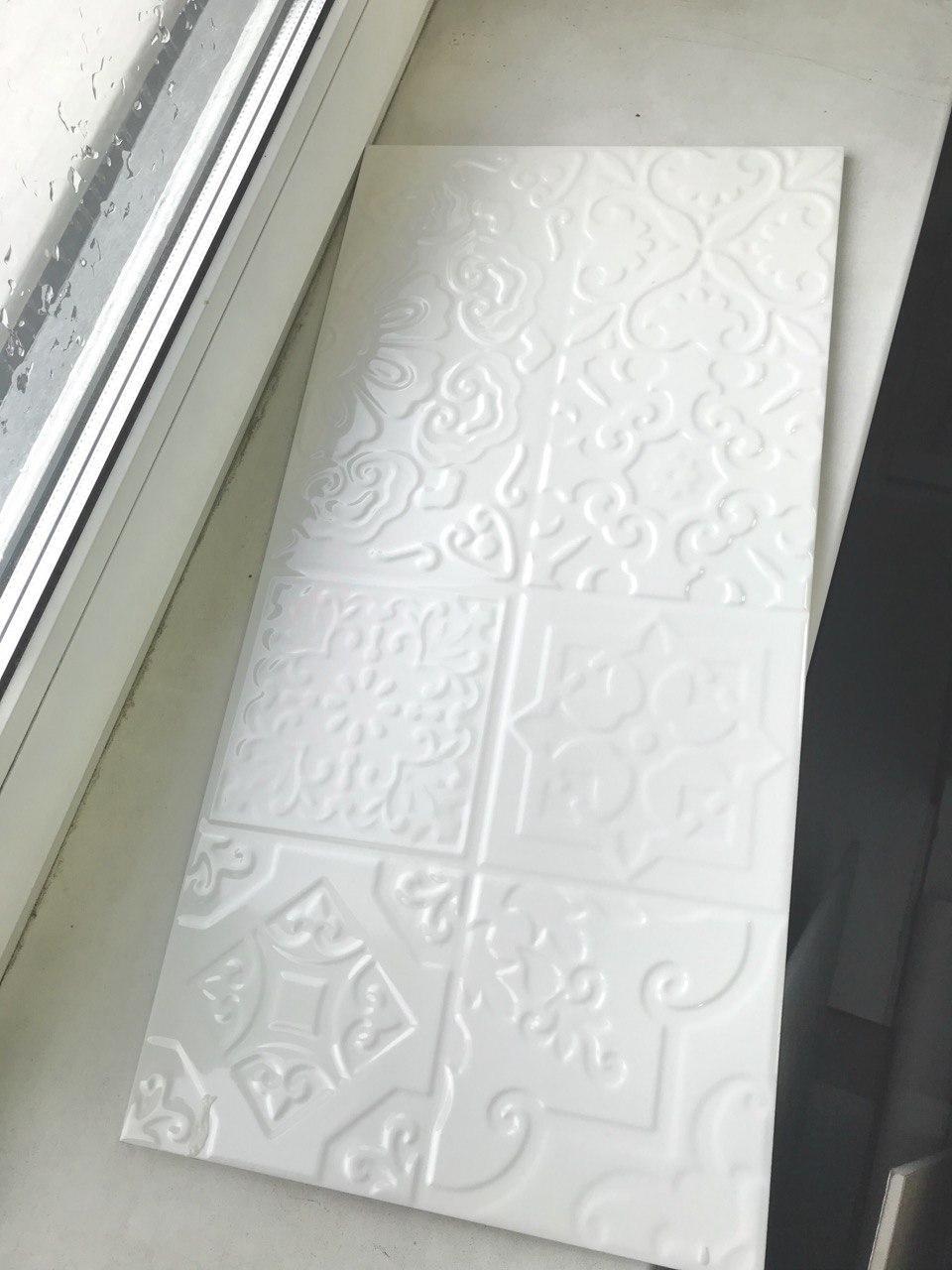 Плитка для стен 300х600  TUTTO BIANCO Белая