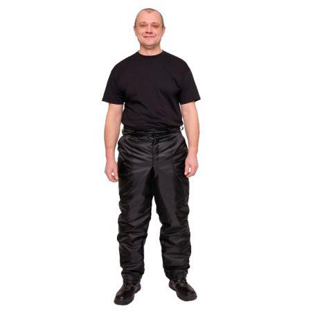 Брюки рабочие утепленные, ткань Оксфорд, черный