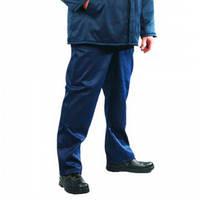 Брюки рабочие утепленные, темно-синий