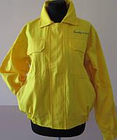 Куртка рабочая желтая