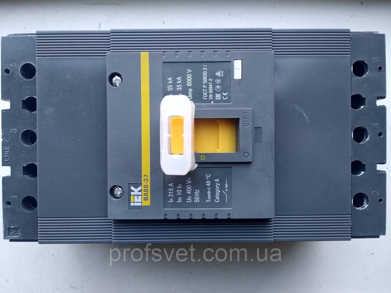 Автоматический выключатель ВА88-37 315А
