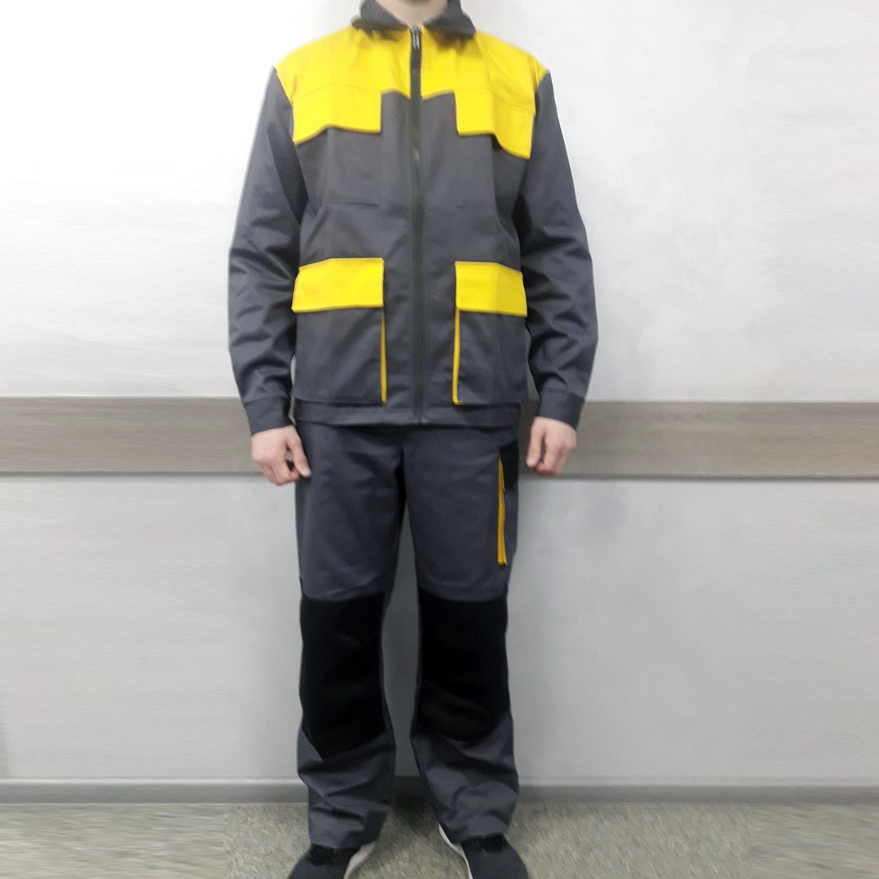 Костюм рабочий демисезонный (полукомбинезон и куртка)