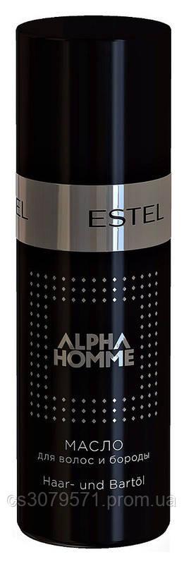 Масло для волос и бороды Estel Professional Alpha Homme Pro