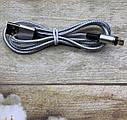Магнитный Micro USB кабель Twitch 1м зарядный шнур, фото 2