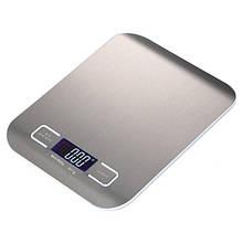 Ваги кухонні Lesko LCD дисплей SF-2012 Сріблястий (4248-12736)