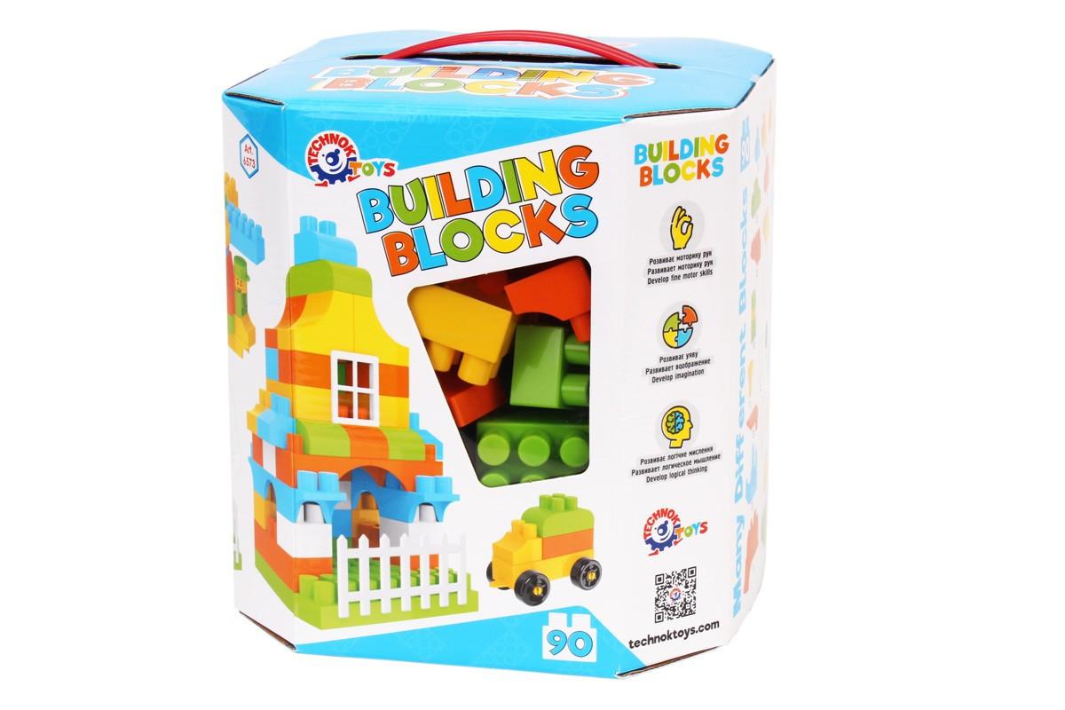 Конструктор ТЕХНОК Building blocks 90 делатей, арт. 6573