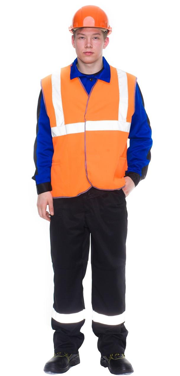 Жилет сигнальный Габарит оранжевый