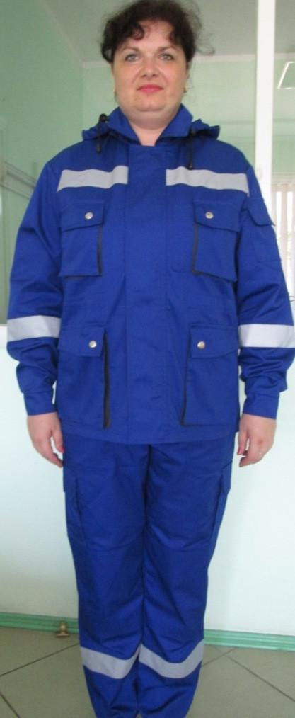 Костюм рабочий синий