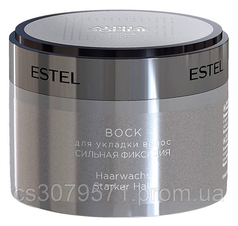 Воск для укладки волос сильной фиксации Estel Professional Alpha Homme Pro
