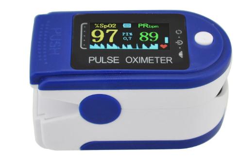 Пульсоксиметр LK 88 TFT медицинский на палец для измерения пульса и уровня сатурации, оксиметр, пульсометр