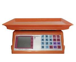 Електронні торгові ваги Nokasonic NK4017 50 кг Помаранчеві (300800)