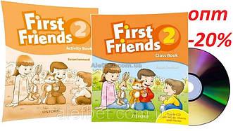 Английский язык /First Friends1st edition / Class+Activity Book. Учебник+Тетрадь (комплект), 2/Oxford