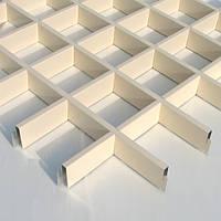 Підвісні стелі гратчасті Грільято 100 х 100, фото 1