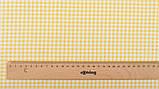 Набор отрезов сатина с рисунком для рукоделия нежного желтого цвета  - 8 отрезов 40*50 см, фото 9