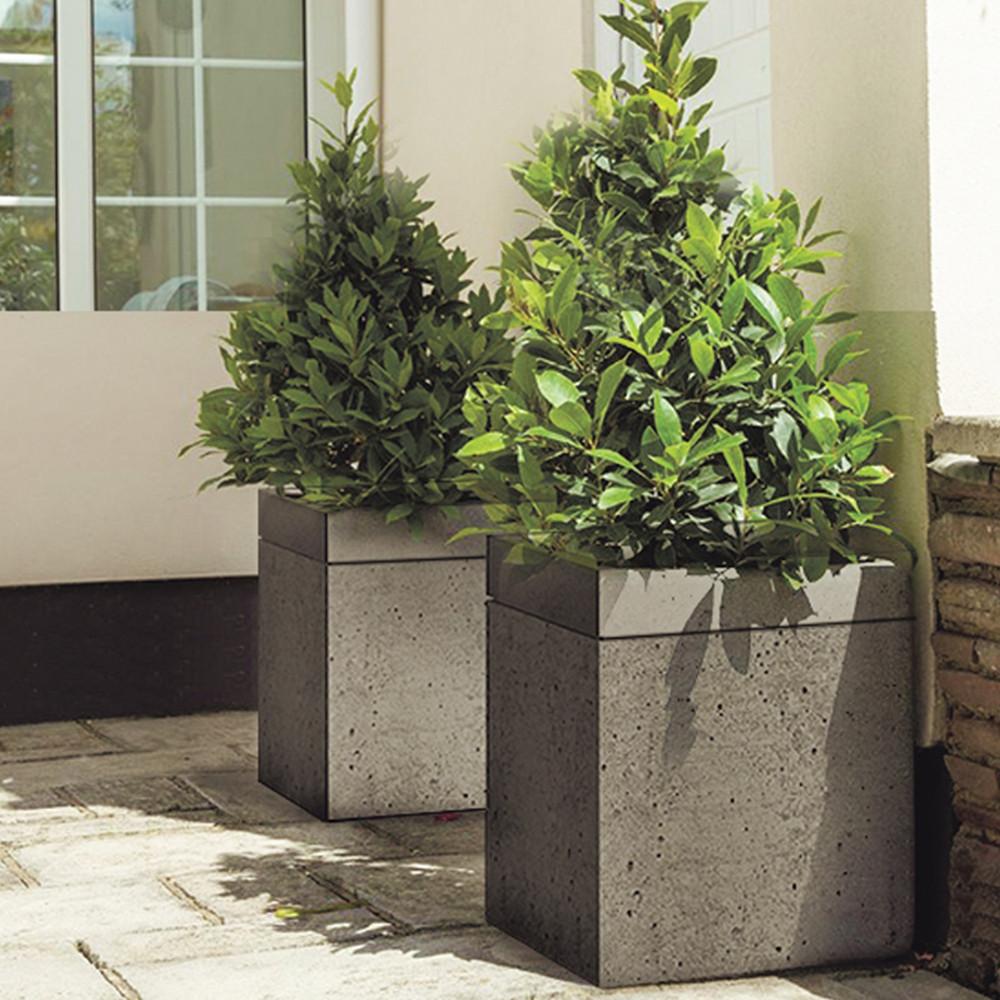 Садовый вазон из бетона купить сайдинг из фибробетона