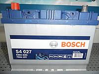 Автомобильный, аккумулятор, BOSCH 0092S40270, 12V, S4 027 Silver 70 Ач, 261х175х220, 630А, Asia,АКБ, фото 1