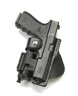 Кобура Fobus для Glock 17 / Glock 22 с подствольным фонарем