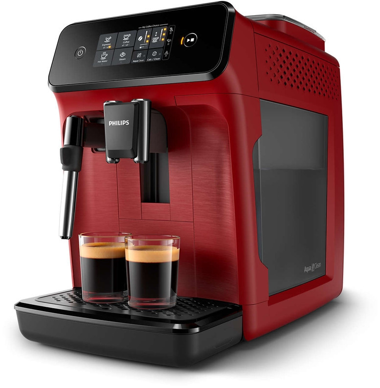 Кофемашина эспрессо автоматическая Philips Series 1200 EP1220/00 Red 1500 Вт
