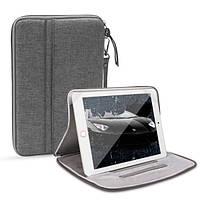 Сумка чохол для планшета з держателем сіра, фото 1