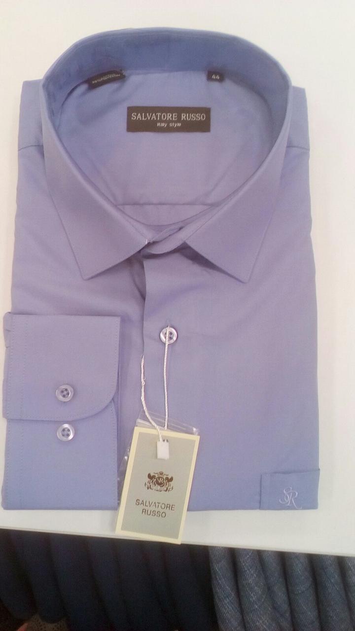 Рубашка мужская классическая Salvatore Russo модель SDK  7626