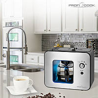 Автоматична Кофемашина з кавомолкою Proficook PC-KA 1152, 500 мл Німеччина