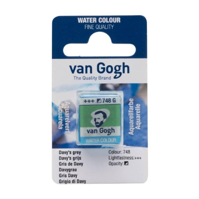 Краска акварельная Royal Talens Van Gogh (748) 1,8 мл кювета Серый Дэви (8712079419561)