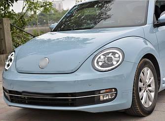 Передние фары Volkswagen Beetle (11-19) Full Led тюнинг оптика