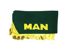 Шторки на лобовое+боковые стекла MAN цвет зеленый (9146)