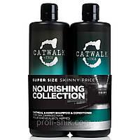 Шампуні та кондиціонери відновлює волосся TIGI Catwalk Oatmeal and Shampoo 750мл and Conditioner 750мл
