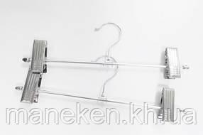 Вешалка брючная К-2 31см. (прищепки-металл)