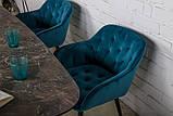 Стол обеденный WELLINGTON керамика коричневый 180*90 Nicolas (бесплатная доставка), фото 5