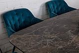 Стол обеденный WELLINGTON керамика коричневый 180*90 Nicolas (бесплатная доставка), фото 4