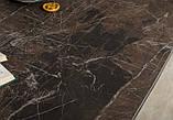 Стол обеденный WELLINGTON керамика коричневый 180*90 Nicolas (бесплатная доставка), фото 7