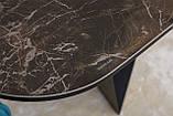 Стол обеденный WELLINGTON керамика коричневый 180*90 Nicolas (бесплатная доставка), фото 10