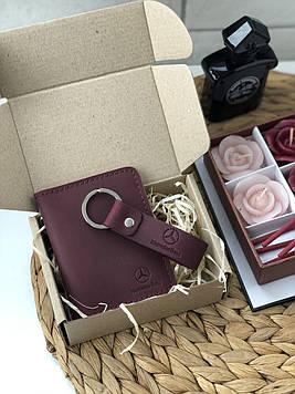 Подарочный набор кожаных аксессуаров Tokyo (Ручная работа)