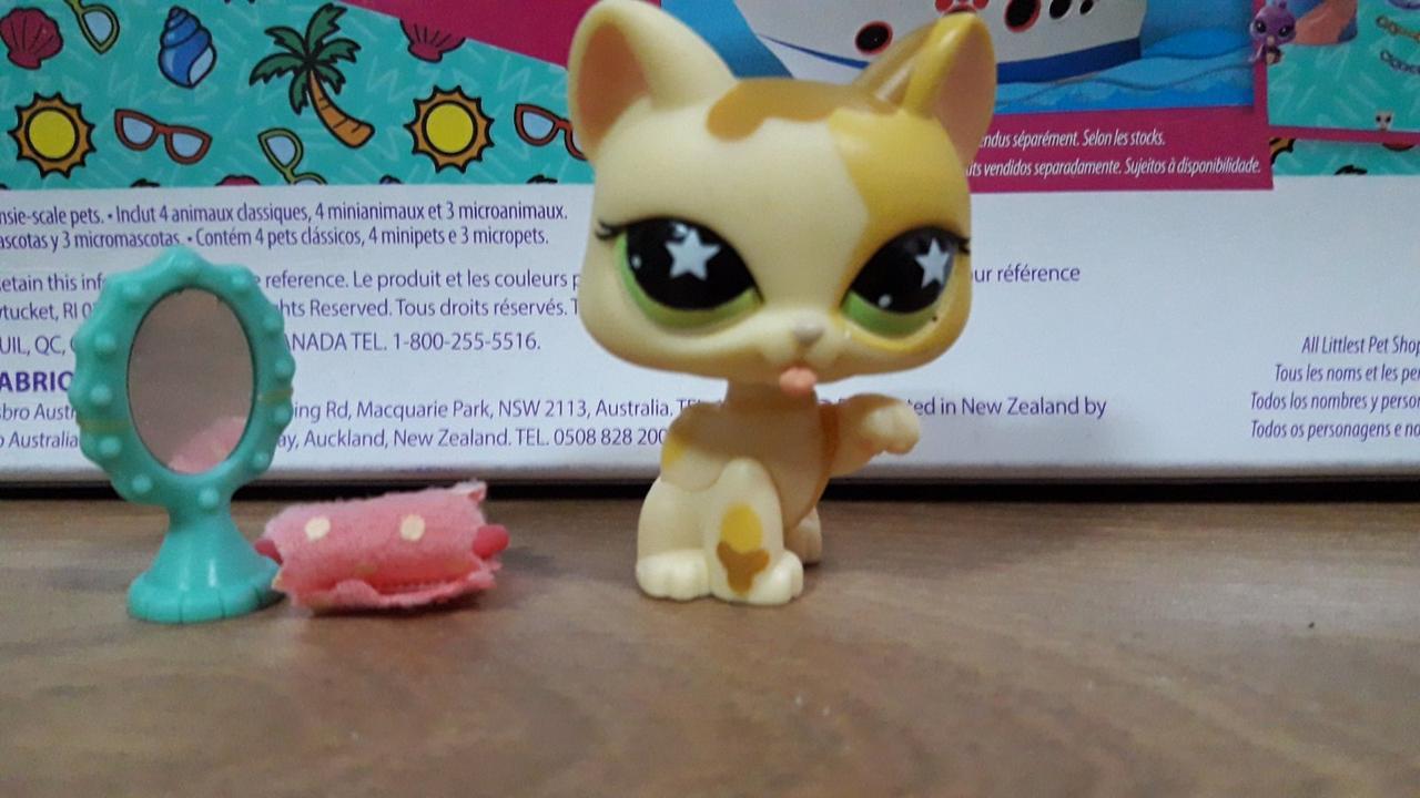 Littlest Pet Shop #832 - Kittent игровой набор - lps старая коллекция-2008 год-без наружной упаковки