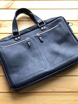 Кожаная женская сумка (портфель) Cameron (Ручная работа)