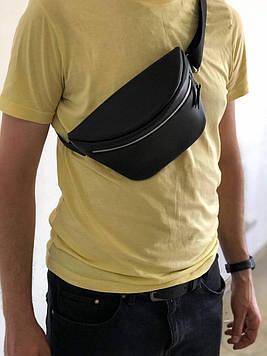 Кожаная мужская сумка  поясная Luca (Ручная работа)