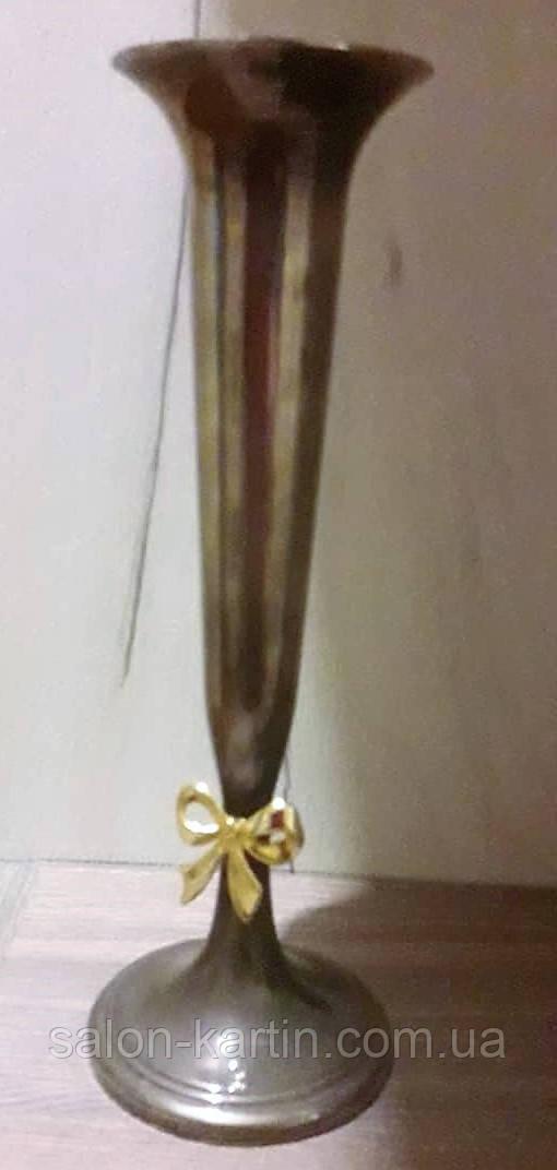Оригинальная ваза с золотым бантиком, Европа