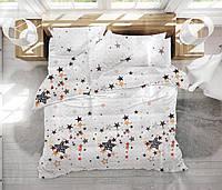 Набор постельного белья Сатин №с163 Двуспальный размер 175х215 см., фото 1