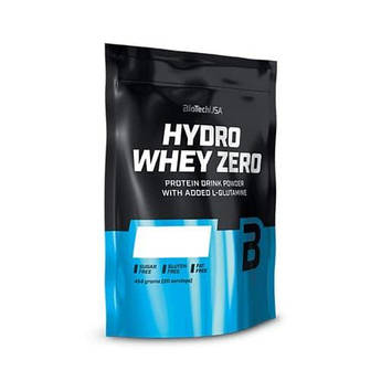 Сывороточный протеин гидролизат Biotech Hydro Whey Zero (454 г) биотеч гидро вей зеро ваниль