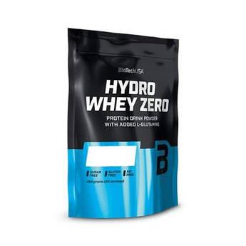 Сывороточный протеин гидролизат Biotech Hydro Whey Zero (454 г) биотеч гидро вей зеро клубника