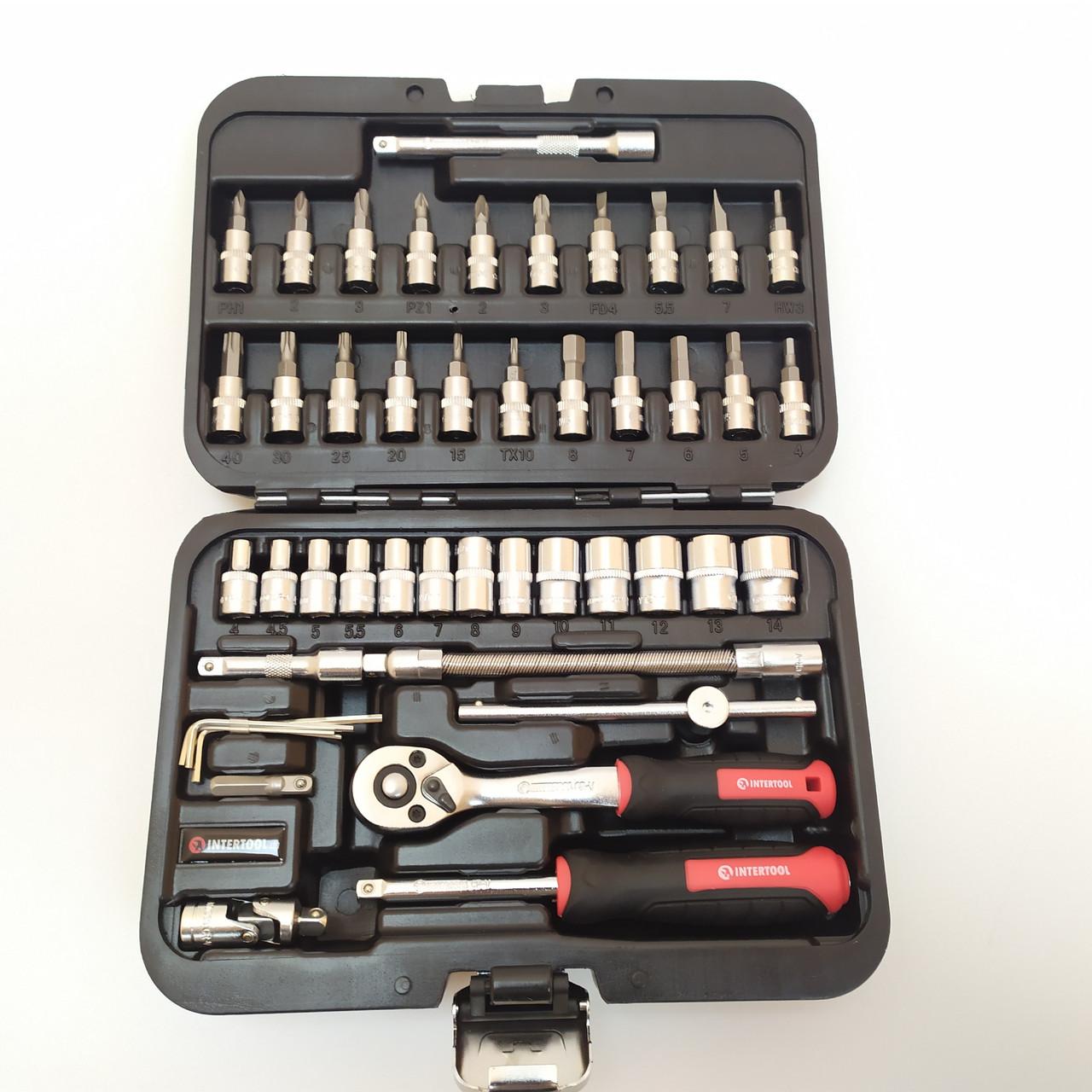 Набор инструментов Intertool ЕТ-8046