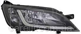 Фара левая электро черная (H7,H7,WY21W,W21/5W) для Citroen Jumper 2014-