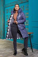 Женское пальто батал, женское тёплое пальто батал