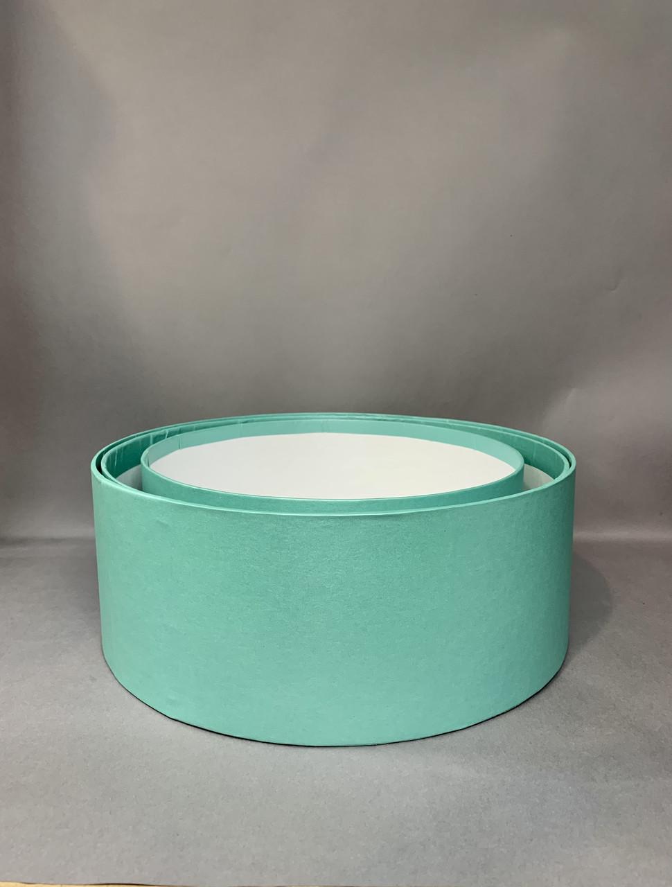Коробка «продуктовая» (Св. бирюза перламутр)