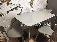 Стол кухонный  Модерн Серый раскладной 120х75 СО-293, фото 1