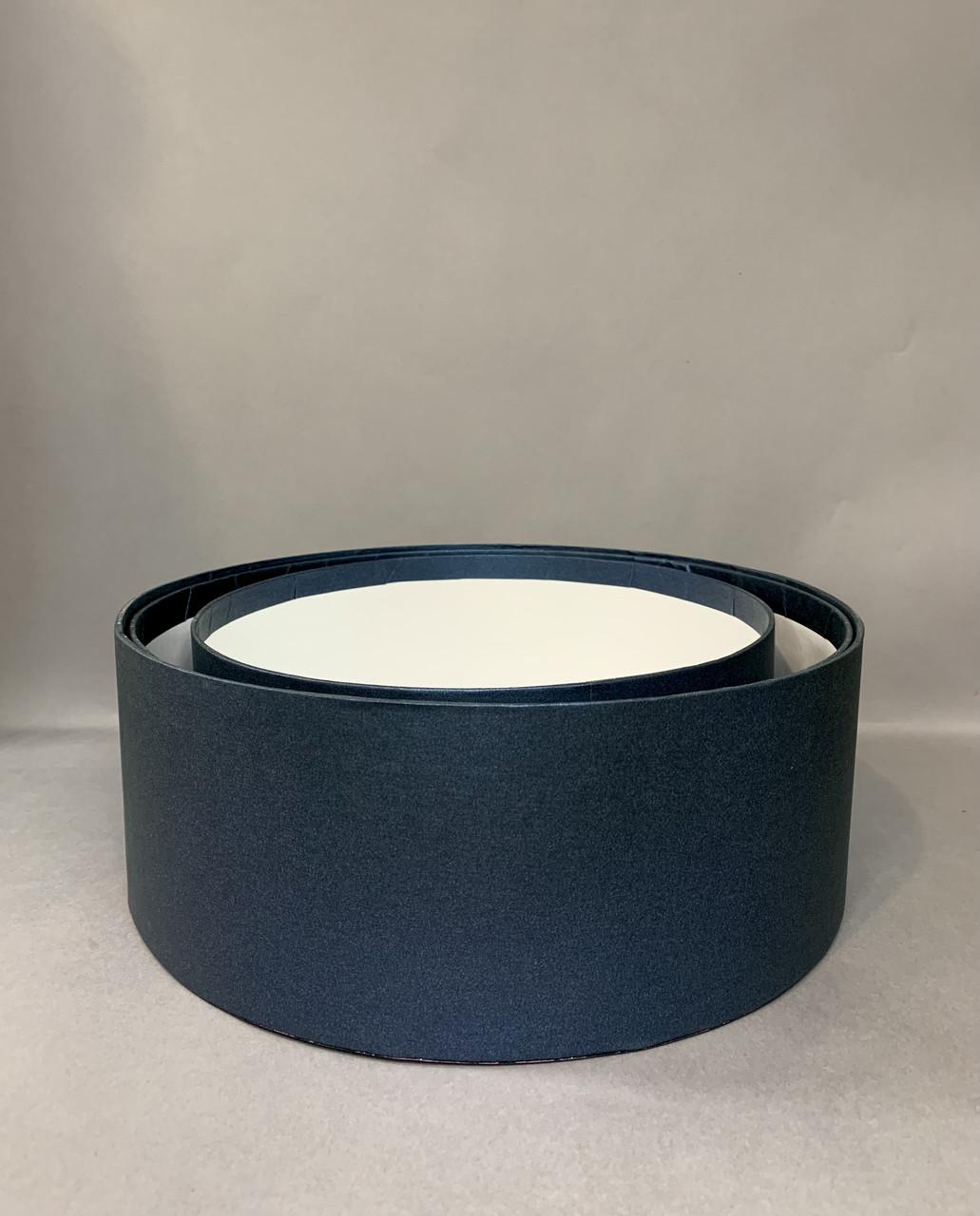 Коробка «продуктовая» (синий перламутр)