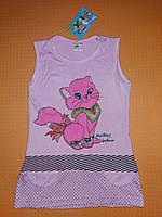 Летнее платье для девочки Mine 122 см Розовый ю133, КОД: 1746647